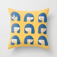 BinnyBoo Throw Pillow