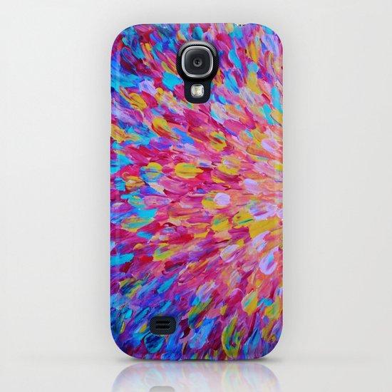 SPLASH, Revisited - Bold Beautiful Feminine Romance Ocean Beach Waves Magenta Plum Turquoise Crimson iPhone & iPod Case