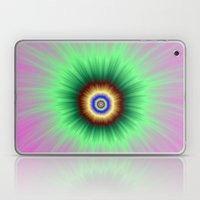 Explosion of Color in Pink and Green Laptop & iPad Skin