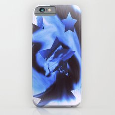 Starburts II cold blue iPhone 6 Slim Case