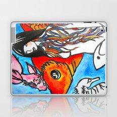 The Sea King's Daughter Laptop & iPad Skin