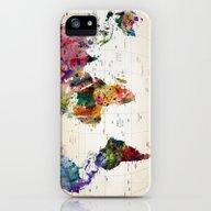Map iPhone (5, 5s) Slim Case