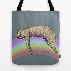 Nap (Sloth & Rainbow 2) Tote Bag