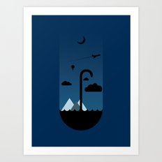 My Umbrella  Art Print