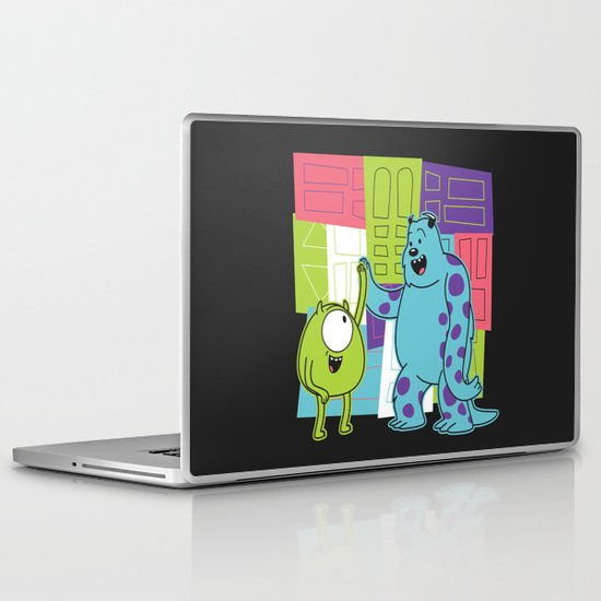 Monster Time Laptop & iPad Skin