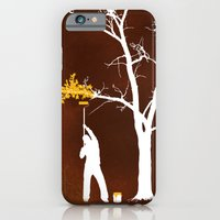 iPhone & iPod Case featuring Relief Painting by rob dobi