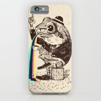 iPhone & iPod Case featuring Strange Frog by Alejandro Giraldo