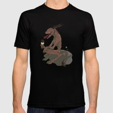 Nom Nommers SMALL Black Mens Fitted Tee