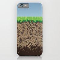 Minecraft Block iPhone 6 Slim Case