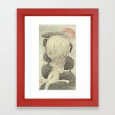 A Big Mistake Framed Art Print