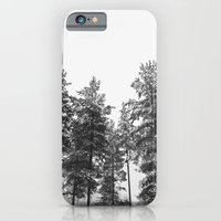 iPhone & iPod Case featuring simply trees in winter by Mariannehope
