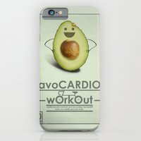 iPhone & iPod Case featuring avoCARDIO workout by JosephMills