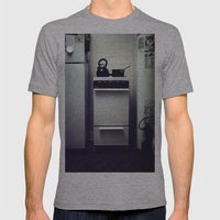 Stove. Mens Fitted Tee Athletic Grey SMALL