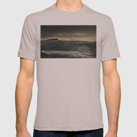 Storm in the sea Mens Fitted Tee Cinder SMALL