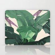 Banana Leaf Pattern Laptop & iPad Skin