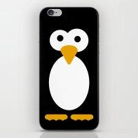 Minimal Penguin iPhone & iPod Skin