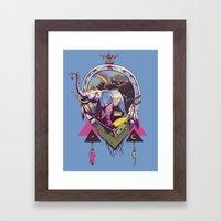 bona fortuna Framed Art Print