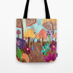 Alice in the Forest Tote Bag