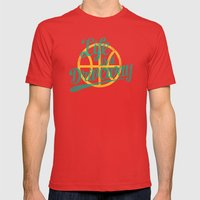 Life Is A Driveway Mens Fitted Tee Red SMALL