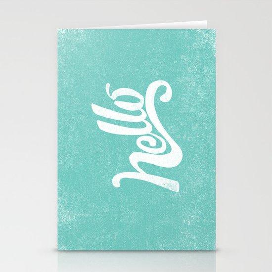 HELLO Stationery Card