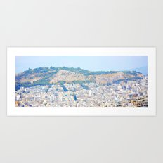 Athens and me Art Print
