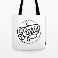 Paris - City Of Light Tote Bag
