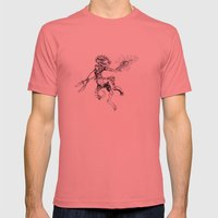 Bubsy the 'Bold Mens Fitted Tee Pomegranate SMALL