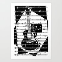 Play My Song II Art Print