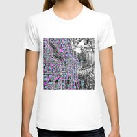 chicago T-shirts featuring chicago  by Bekim ART