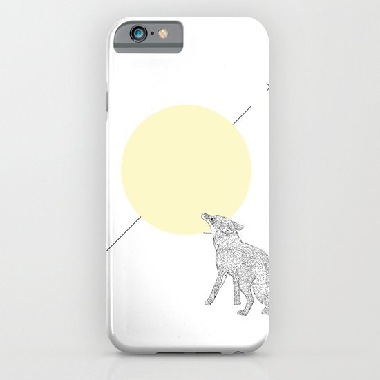 Bite the moon iPhone & iPod Case
