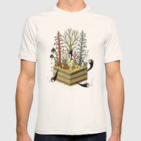 Slice Mens Fitted Tee Natural SMALL