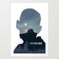 The Walking Dead - Season 2 Art Print