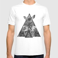 ▲BOSQUE▲ Mens Fitted Tee White SMALL