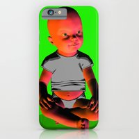 iPhone & iPod Case featuring baby doll by Misha Dontsov