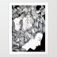 MIND'S EXTASY Art Print