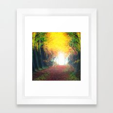 The Door Within Framed Art Print