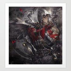 Master Assassin Art Print