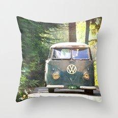 Peace Love Nature Throw Pillow