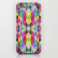 Winter geometrics iPhone 6 Slim Case