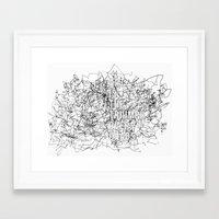 Triumph Over Chaos. Framed Art Print