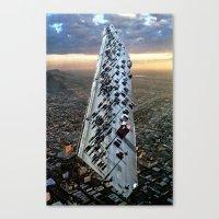 Mile 604 Canvas Print