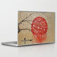 japan Laptop & iPad Skins featuring Japan by Japan Art