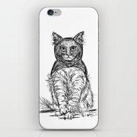 BAT CAT iPhone & iPod Skin