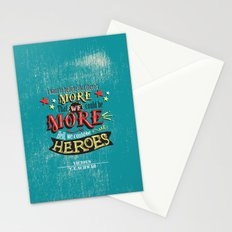Vicious by V.E.Schwab - We Could Be Heroes Stationery Cards
