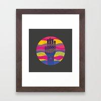 Chiromancy Framed Art Print