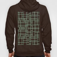 Map Outline Mint Hoody