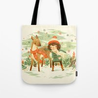 A Wobbly Pair Tote Bag