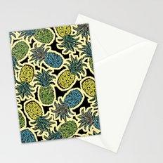 Pineapple Pandemonium - Retro Tones Stationery Cards