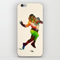 Trophy Pose iPhone & iPod Skin