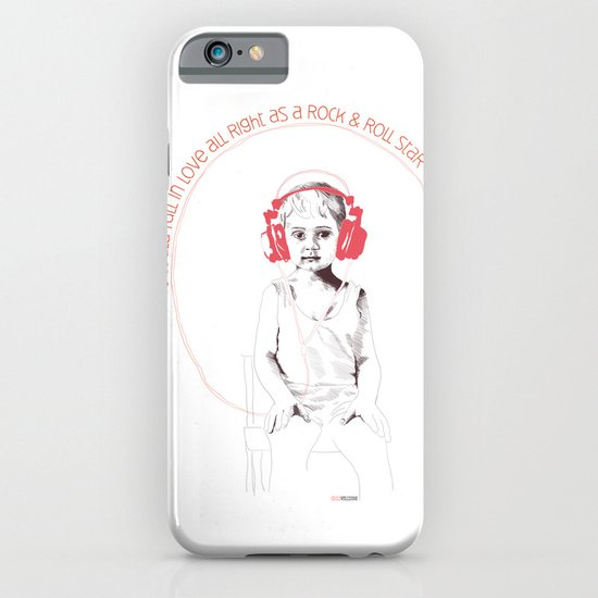 RocknRoll Boy iPhone & iPod Case